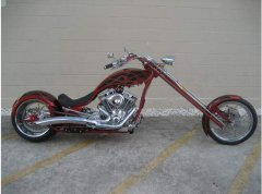 2010 Big Bear Choppers Athena Chopper 100 Smooth Carb Evolution