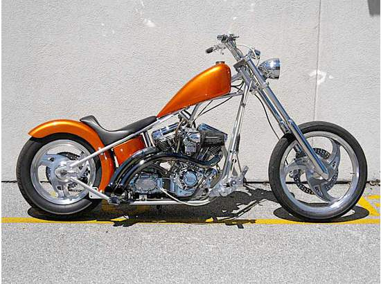 1999 Big Dog Motorcycles Pitbull Custom In Maryland