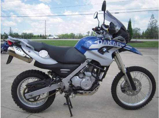 2005 Bmw F 650 Gs Dakar Custom In Cleveland Oh 44202 8121 F 650