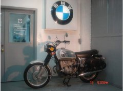 1972 Bmw R60/5 Toaster