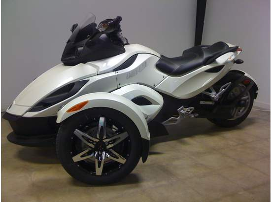 2010 can am spyder rss custom in greenville tx 75402 10536 spyder rs motorcycles. Black Bedroom Furniture Sets. Home Design Ideas