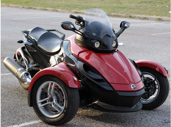 Can Am Spyder Roadster >> 2008 Can-Am Spyder,Custom in McKinney, TX 75069 - 10863 ...