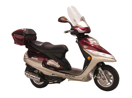 motorized scooter wildfire motor scooter. Black Bedroom Furniture Sets. Home Design Ideas