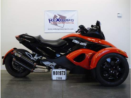 2009 Can Am Spyder Rs Sm5 A19f00 Custom In Rexburg Id