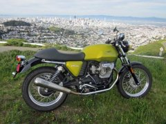Goosing the Goose: Making a Cafe Racer out of the Guzzi V7 C