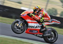 Valentino Rossi To Attack Assen With 2012 Frame and New Gearbox