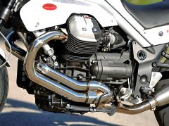 New Guzzi Eight Valve Engine Debuts in Griso