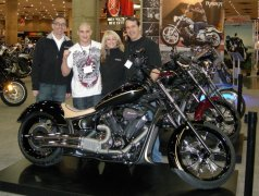Star Motorcycles and UFC Fighter Diego Sanchez Unveil Custom Stryker at New York Progressive Insurance IMS Show