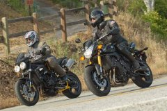 MD Comparo: Yamaha FZ8 vs. Triumph Street Triple R