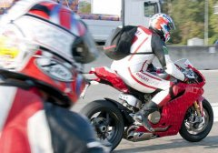 Ducati 1199 Panigale Superbike Photographed During Testing,