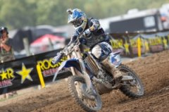 Gareth  Swanepoel Battles from the Back to Claim Ricky Carmichael Hard Charger Award  at Unadilla